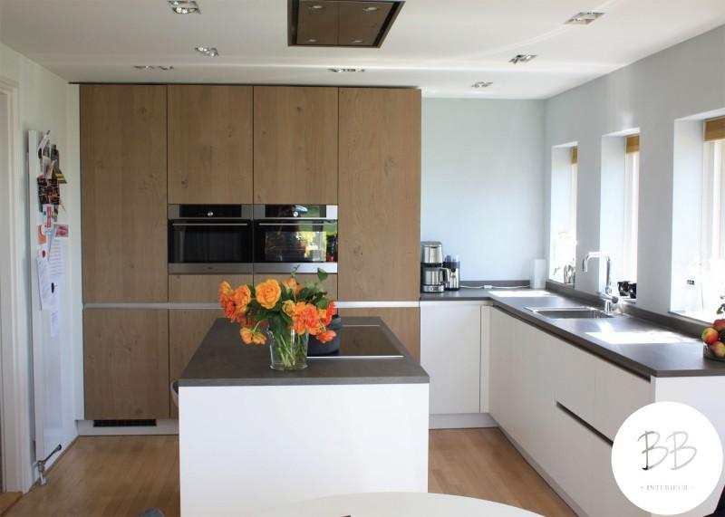 Project keuken oostrum birgitte brouwer interieur - Keuken centraal eiland ...